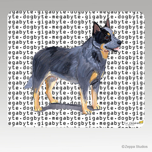 Australian Cattle Dog Megabyte Mouse Pad