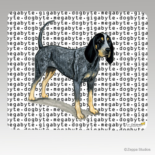 Bluetick Coonhound Megabyte Mouse Pad