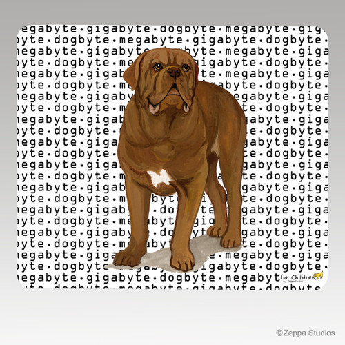 Dogue de Bordeaux Megabyte Mouse Pads