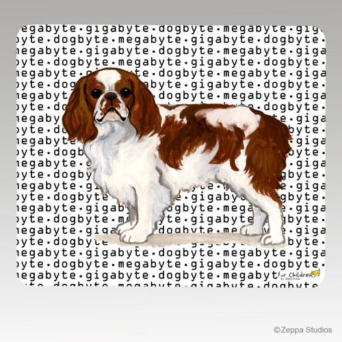 English Toy Spaniel Megabyte Mouse Pad
