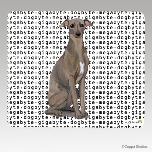 Italian Greyhound Megabyte Mouse Pad