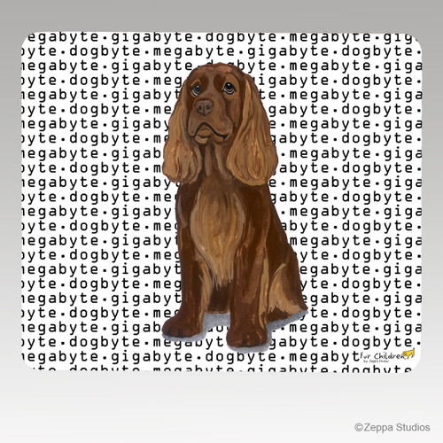 Sussex Spaniel Megabyte Mouse Pad - Rectangle