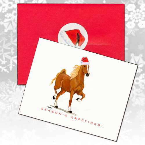 Saddlebred Horse Christmas Cards