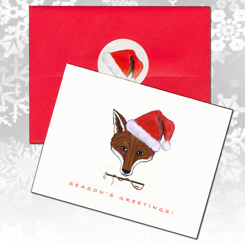 Fox Mask Christmas Cards