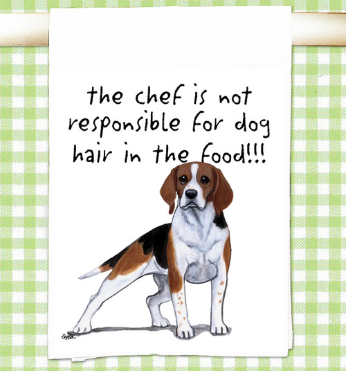 Beagle Flour Sack Kitchen Towel