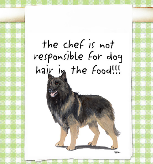 Belgian Tervuren Flour Sack Kitchen Towel