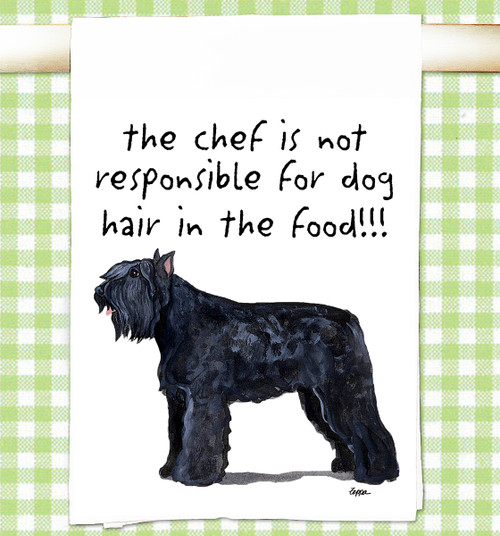 Bouvier Flour Sack Kitchen Towel
