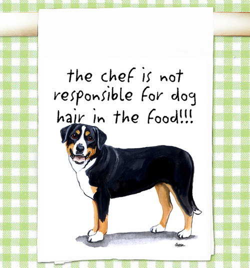 Greater Swiss Mountain Dog Flour Sack Kitchen Towel