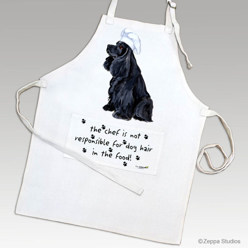 Black Cocker Spaniel Apron