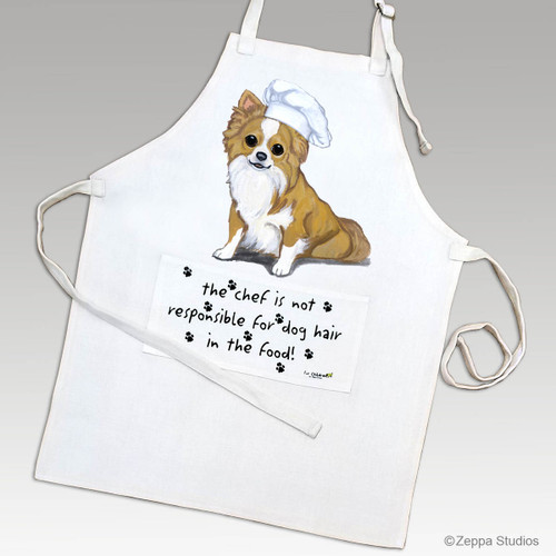 Longhaired Chihuahua Apron