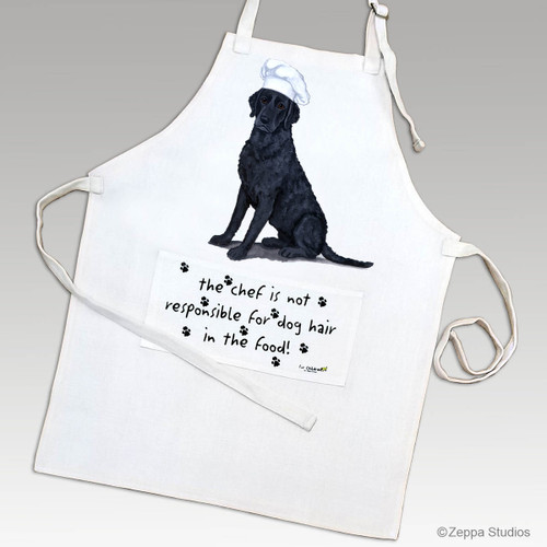 Curly Coated Retirever Apron