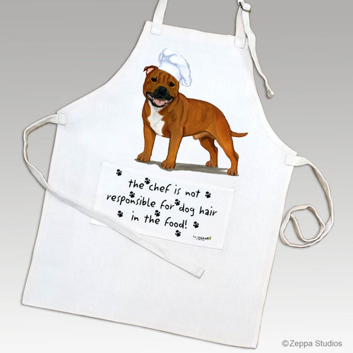 English Staffordshire Terrier Apron