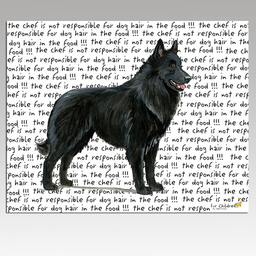 Belgian Shepherd Cutting Board
