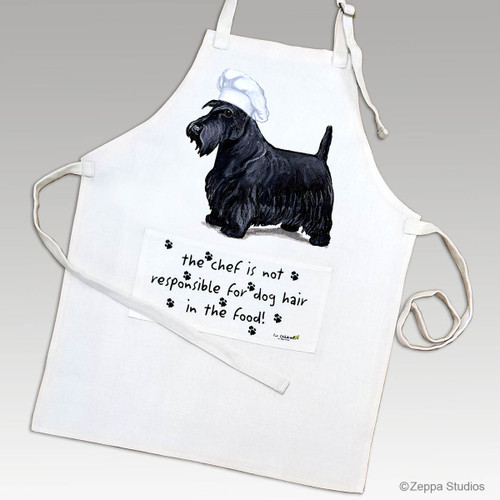 Zeppa Studios' Scottish Terrier Apron