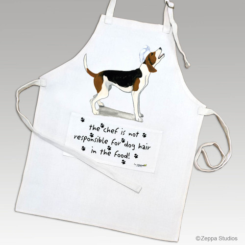 Zeppa Studios' Treeing Walker Coonhound Apron