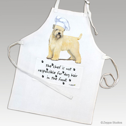 Zeppa Studios' Soft Coated Wheaten Terrier Apron