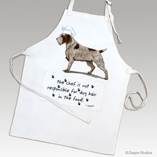 Zeppa Studios' Wirehaired Pointing Griffon Apron