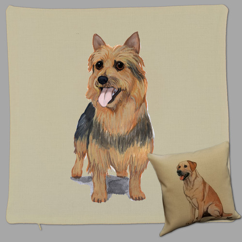 Zeppa Studios Australian Terrier Throw Pillow