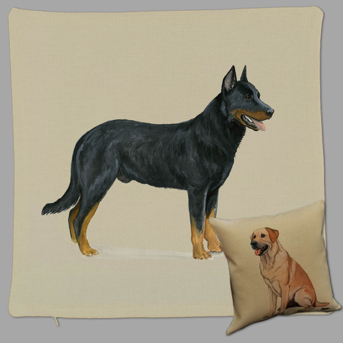 Zeppa Studios Beauceron Throw Pillow