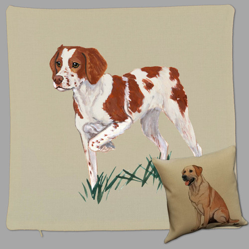 Zeppa Studios' Brittany Throw Pillow