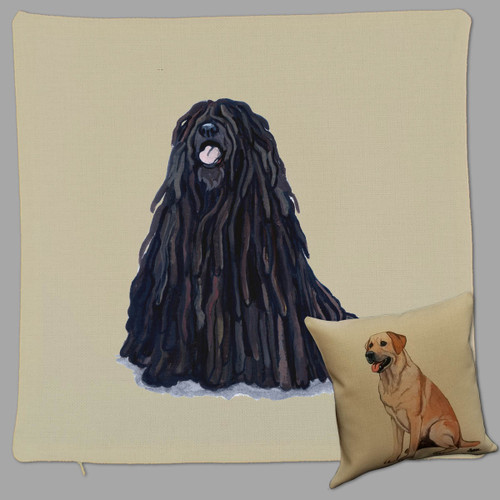 Puli Throw Pillow