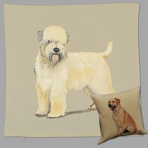 Wheaten Terrier Throw Pillow
