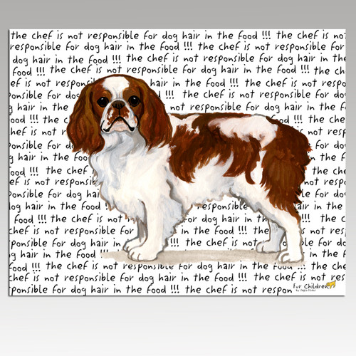English Toy Spaniel Cutting Board