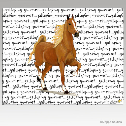 Saddlebred Horse Cutting Board