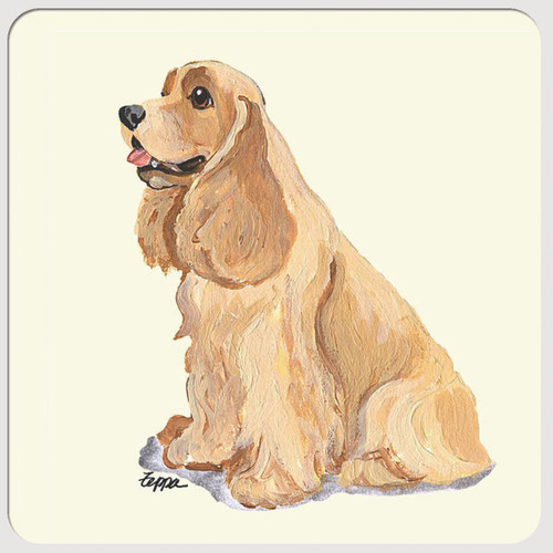 American Cocker Spaniel Beverage Coasters