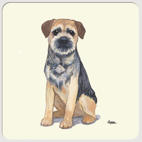 Border Terrier Beverage Coasters