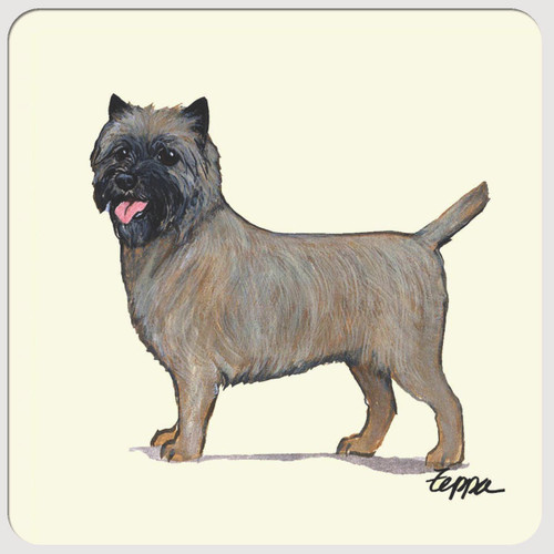Cairn Terrier Beverage Coasters