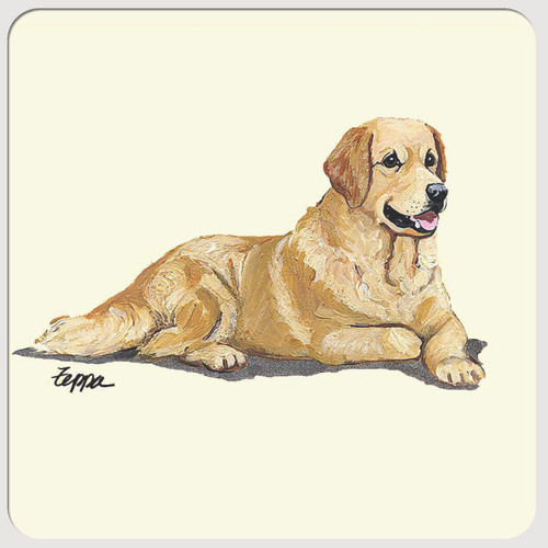 Golden Retriever Beverage Coasters