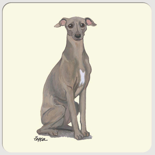 Italian Greyhound Beverage Coasters