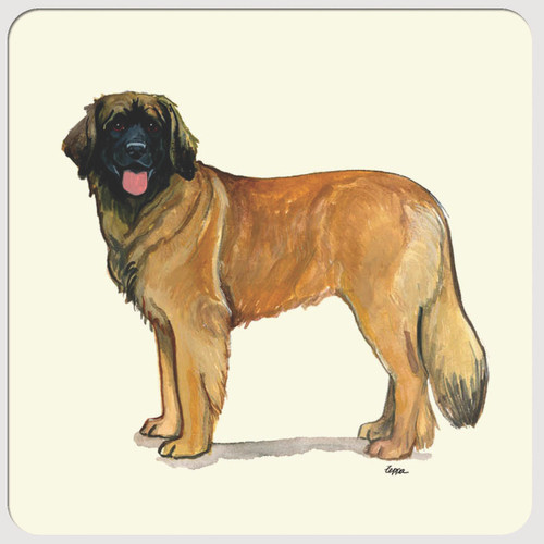 Leonberger Beverage Coasters