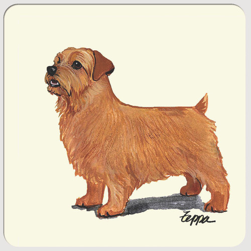 Norfolk Terrier Beverage Coasters