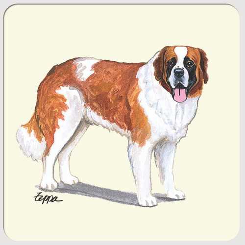 Saint Bernard Beverage Coasters