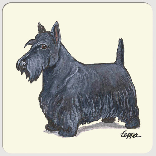 Scottish Terrier Beverage Coasters