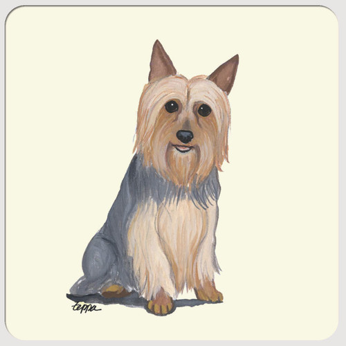Silky Terrier Beverage Coasters
