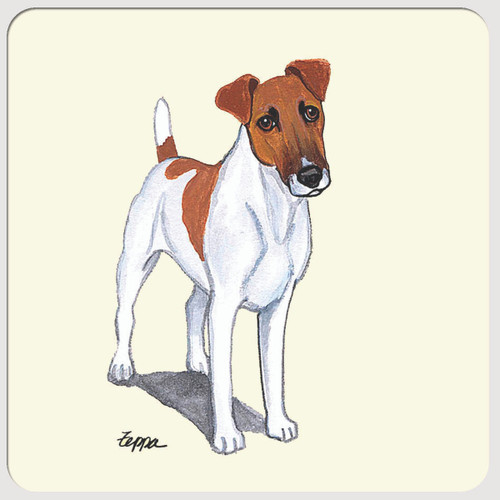 Smooth Fox Terrier Beverage Coasters