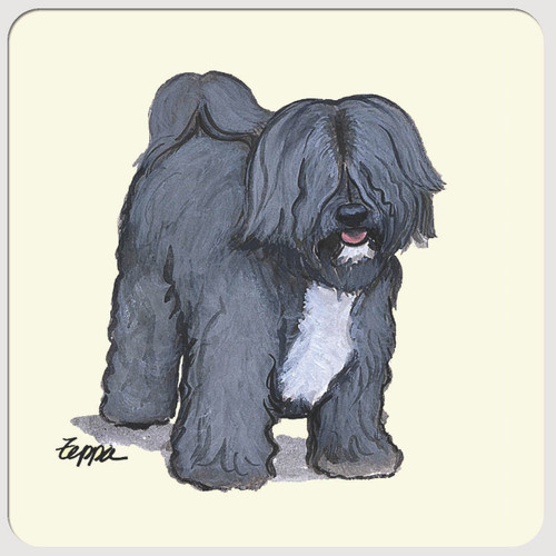 Tibetan Terrier Beverage Coasters
