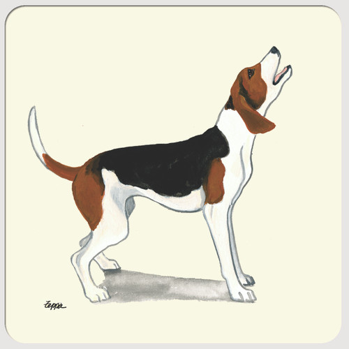 Treeing Walker Coonhound Beverage Coasters