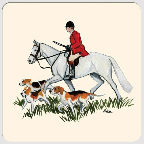 Fox Hunt Scene Christmas Cards