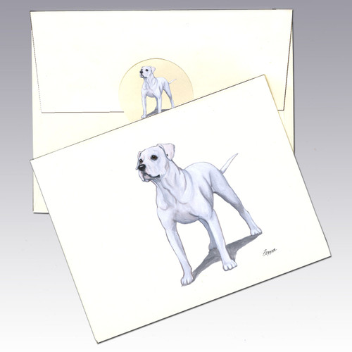 American Bulldog Note Cards