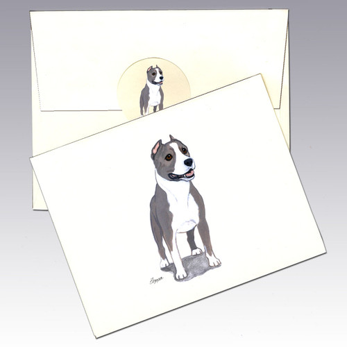 American Staffordshire Terrier Note Cards