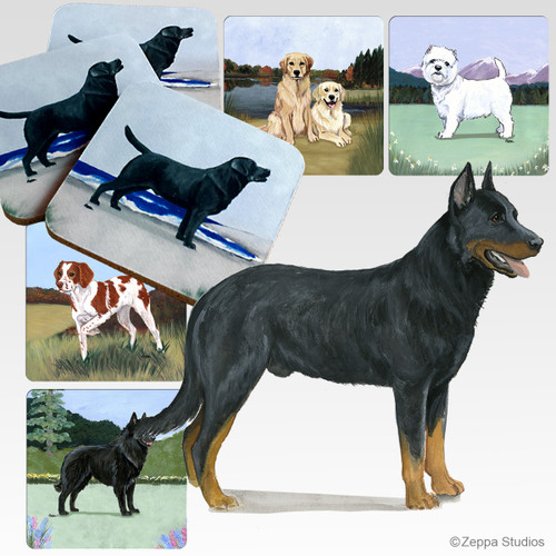 Beauceron Scenic Coasters