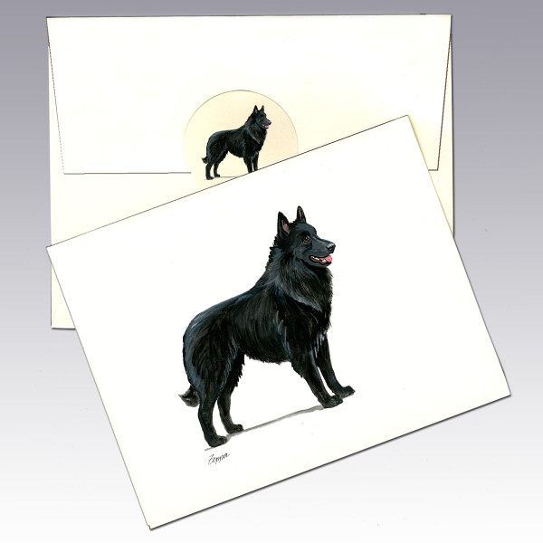 Belgian Shepherd Note Cards