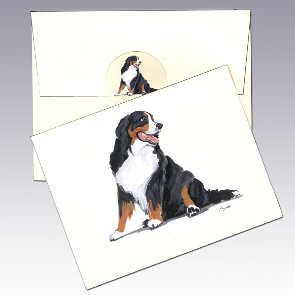 Bernese Mountain Dog Note Cards