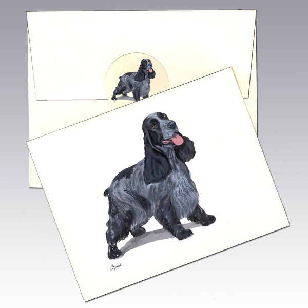 English Cocker Spaniel Note Cards