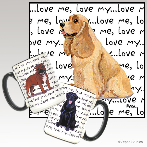 American Cocker Spaniel Love Me Mug