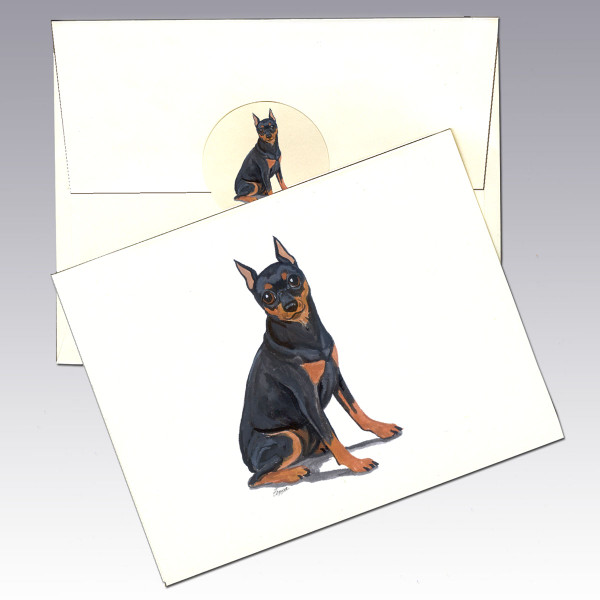 Min Pin Note Cards